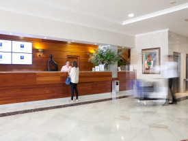 Hotel Carlos I SIlgar     Recepción