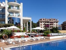 Hotel Carlos I Silgar Piscina