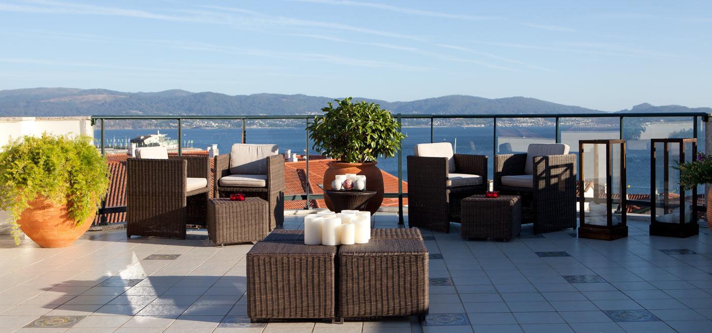 Hotel Carlos I Silgar | [es] Terraza [en] Terrace [pt] Terraço